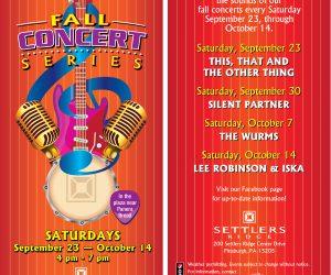 Fall Concert Series