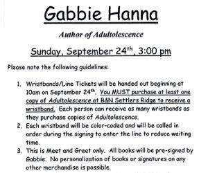 Barnes & Noble Presents Gabbie Hanna