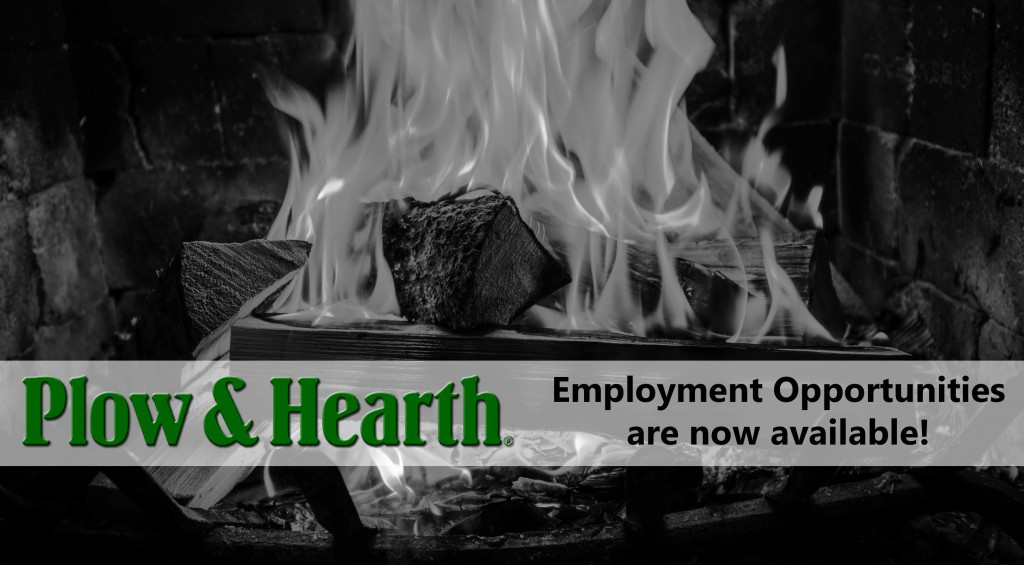 Plow & Hearth is hiring