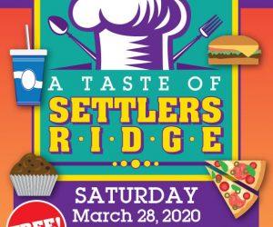 A Taste of Settlers Ridge – CANCELLED