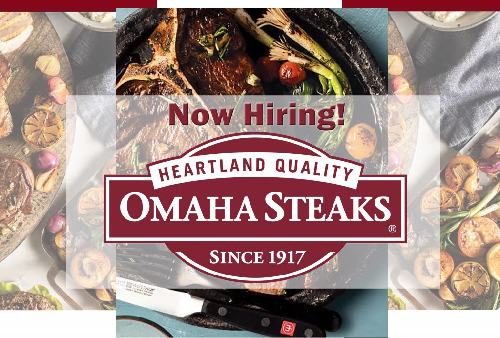 Omaha Steaks is hiring
