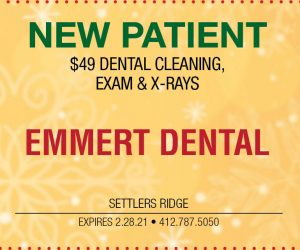Emmert Dental – New Patient $49 Dental Cleaning, Exam & X-rays