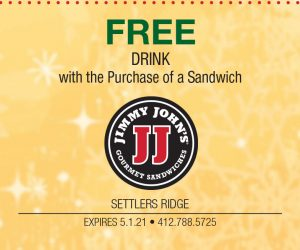 Jimmy John's – FREE Drink with the Purchase of a Sandwich
